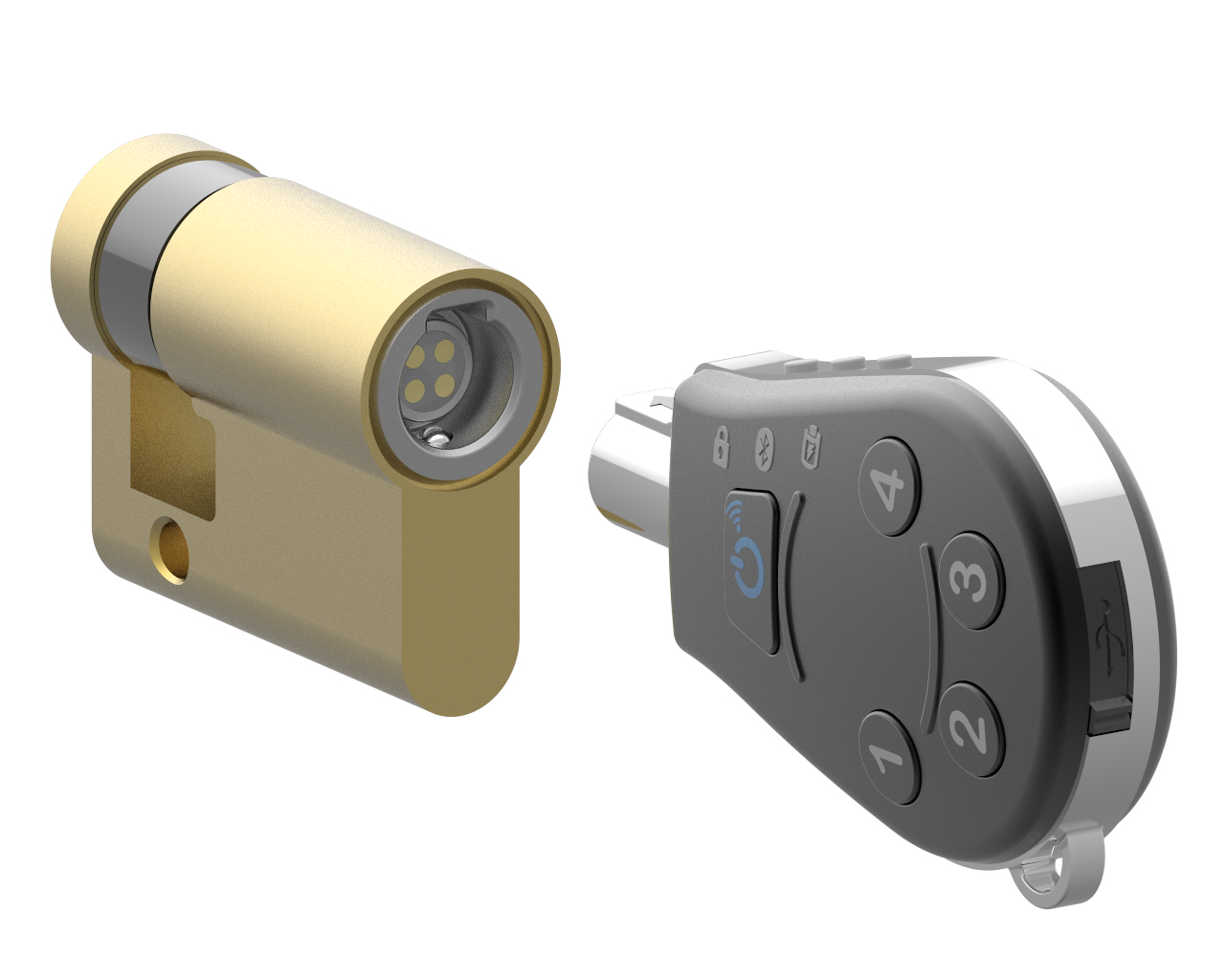 KP-A244 : ICT Compact Digital Lock  Key image
