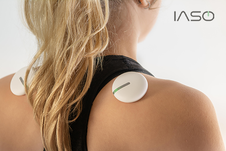 KP-A321 : Wearable Dual Cold laser Therapy Vibrating Massager